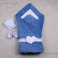 Зимний Комплект для новорожденных Sweetness (синий)