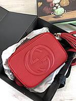 Кожаная сумочка Гуччи (реплика), фото 1