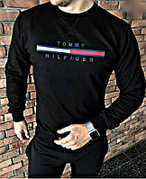 Батник мужской весна-осень Hilfiger (48/50 универсал) (цвет черный) СП