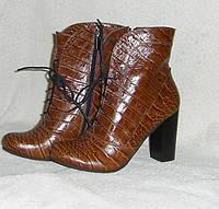 Ботинки женские из натуральной кожи 38 размер
