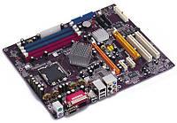 Материнская плата Elitegroup 915P-A (Intel 915, 2xDDR+2xDDR2, 1xAGP+1xPCIE, 4xSATA) бу