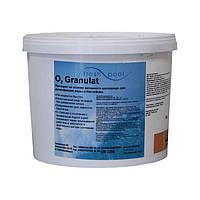 Немецкий Активный кислород в гранулах Fresh Pool O2 (5 кг) для бесхлорной дезинфекции бассейна, фото 1
