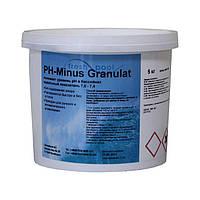 Немецкий pH минус в гранулах Fresh Pool 5 кг. Средство для понижения pH в воде бассейна pH minus, фото 1