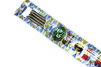 Спицы носочные металлические 25см Panda Xiong Mao/5шт:№11  (3мм)