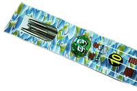 Спицы носочные металлические 25см Panda Xiong Mao/5шт:№10  (3.5мм)