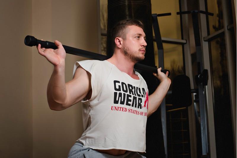 Палка гимнастическая Бодибар 2,5 кг