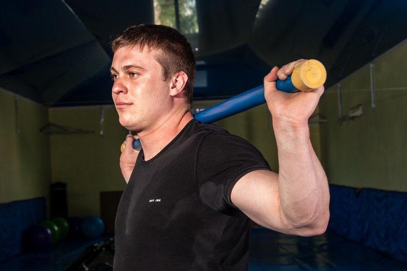 Бодибар bodybar (гимнастическая палка) 8 кг