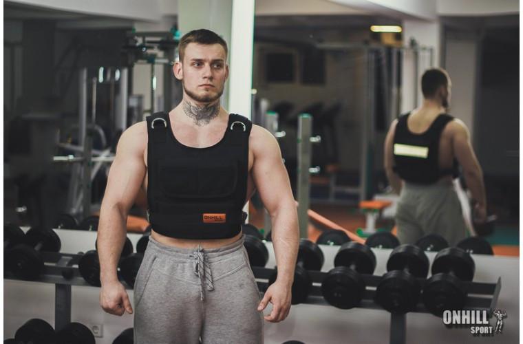 Жилет-утяжелитель 1-10 кг    ( 48-50 р)