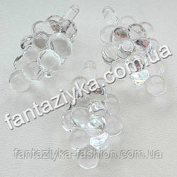 Декоративная кристальная подвеска Виноград 47мм