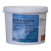 PH плюс в гранулах Fresh Pool 25 кг для бассейна. Средство для повышения pH воды в мешках Германия, фото 1