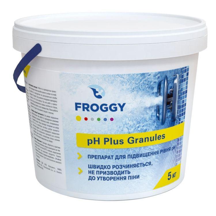 PH плюс в гранулах Фрогги 5 кг. Средство для повышения пш pH Plus Granules Froggy.