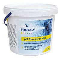 PH плюс в гранулах Фрогги 5 кг. Средство для повышения пш pH Plus Granules Froggy., фото 1