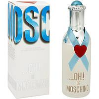Женская туалетная вода OH! De Moschino Moschino (прозрачный, легкий, свежий аромат)