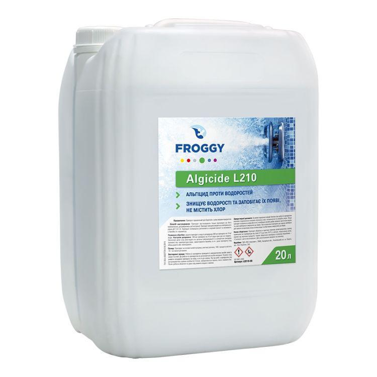 Средство против водорослей Froggy Algycide L0210-03 20 литров. Альгицид (дезальгин) для бассейна.