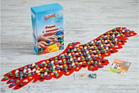 Массажный коврик массажер с цветными камнями Орел (р.148х50см), фото 1