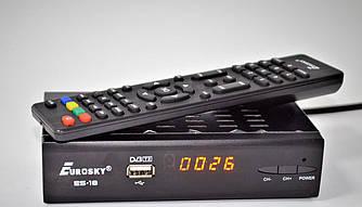 Цифровой эфирный ресивер Eurosky ES-18 IPTV металл DVB-T2