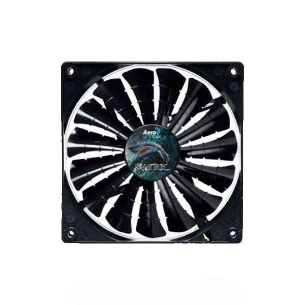 Корпусний вентилятор Aerocool Shark Fan 120 (4710700955413) Black Edition
