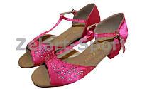 Обувь для танца (для девочек) латина ET7009-P