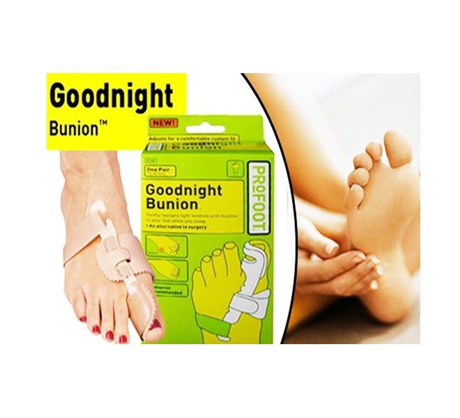 Бандаж-фиксатор для большого пальца Goodnight Bunion (2шт)