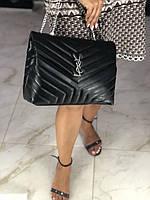 Елегантная женская сумочка SAINT LAURENT LouLou Monogram (реплика)