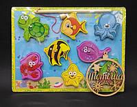 Деревянная игрушка обьемная Магнитная рыбалка