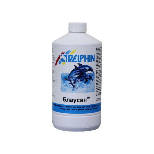 Немецкий альгицид Delphin Блаусан 1 литр. Средство против водорослей в бассейне