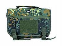Тактическая наплечная сумка MFH 30695V Flectarn немецкий камуфляж, фото 1