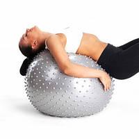 Мяч массажный для фитнеса Фитбол 65 см, фото 1