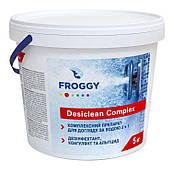 Хлорные таблетки  Froggy Desiclean для длительной дезинфекции бассейна, по 25кг