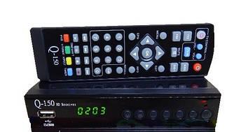 Цифровой эфирный ресивер Q-SAT Q-150 DVB-T2 Dolby Digital AC3