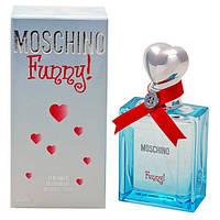 Женская туалетная вода Moschino Funny 50 ml (игривый цветочно-фруктовый аромат)