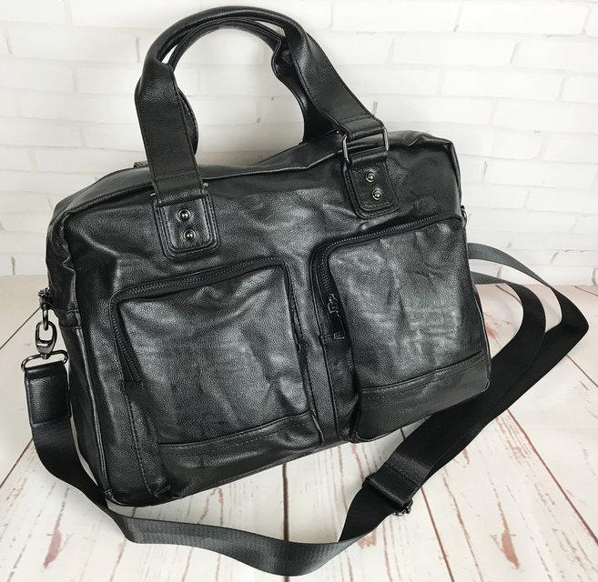 Мужская городская сумка. Сумка для поездок. Стильная вместительная сумка. Мужские сумки.