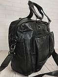 Мужская городская сумка. Сумка для поездок. Стильная вместительная сумка. Мужские сумки., фото 4