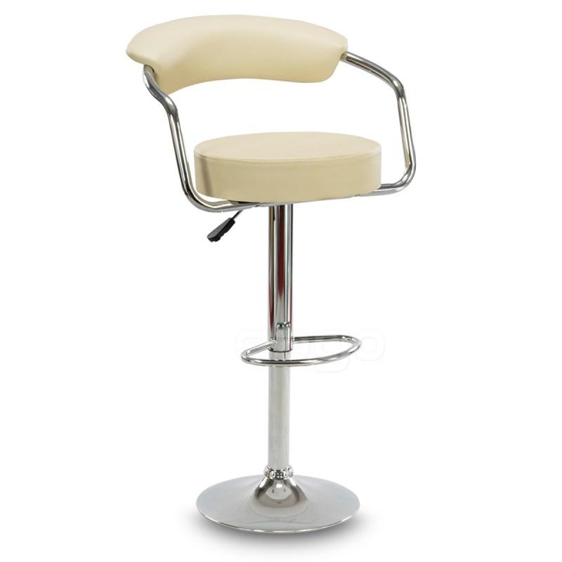 Барный стул табурет барний стілець кресло для кухни Hoker Soho бежевый