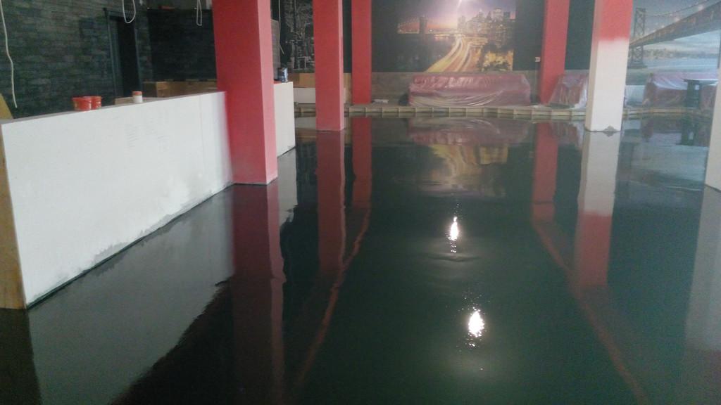 Устройство эпоксидного наливного пола