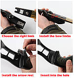 Junxing f161 лук для стрельбы, фото 6
