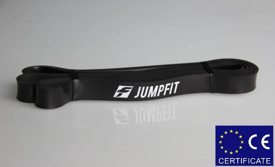 Резиновая петля,петли для подтягивания,фитнес резинка JUMPFIT Pro Черная 11 - 30 kg