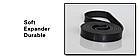 Резиновая петля,петли для подтягивания,фитнес резинка JUMPFIT Pro Черная 11 - 30 kg , фото 4