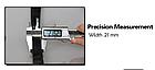 Резиновая петля,петли для подтягивания,фитнес резинка JUMPFIT Pro Черная 11 - 30 kg , фото 5