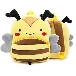 Рюкзак велюровый Пчела Berni Kids