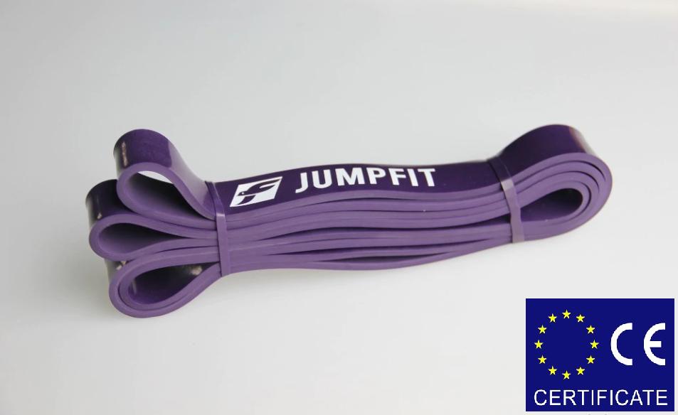 Резиновая петля,петли для подтягивания,фитнес резинка JUMPFIT Pro Фиолетовая   16 - 39 kg