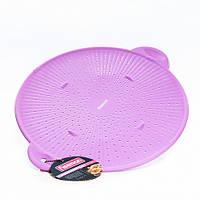 Защитный экран для сковороде от брызг 28 см (силикон), фото 1