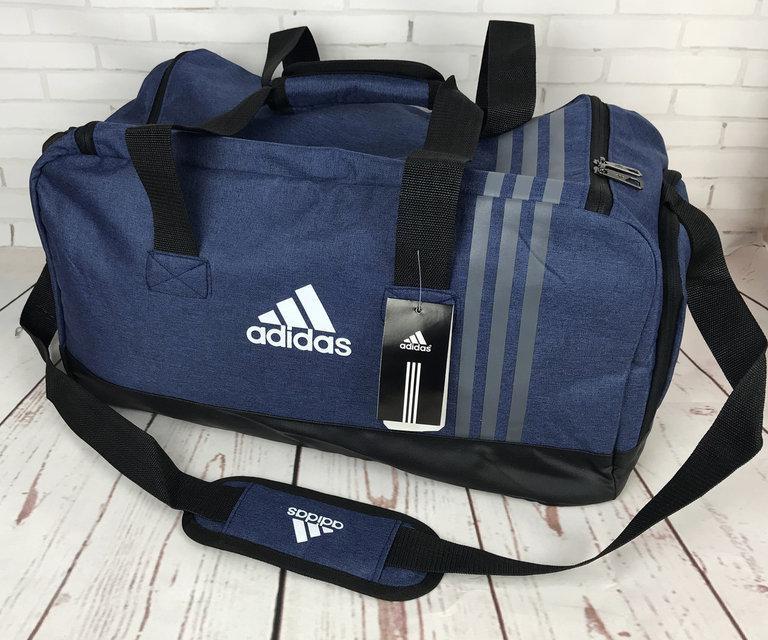 2fc5fb76c448 Спортивная сумка Adidas. Сумка для тренировок , в спортзал. Дорожная сумка.  Стильная мужская