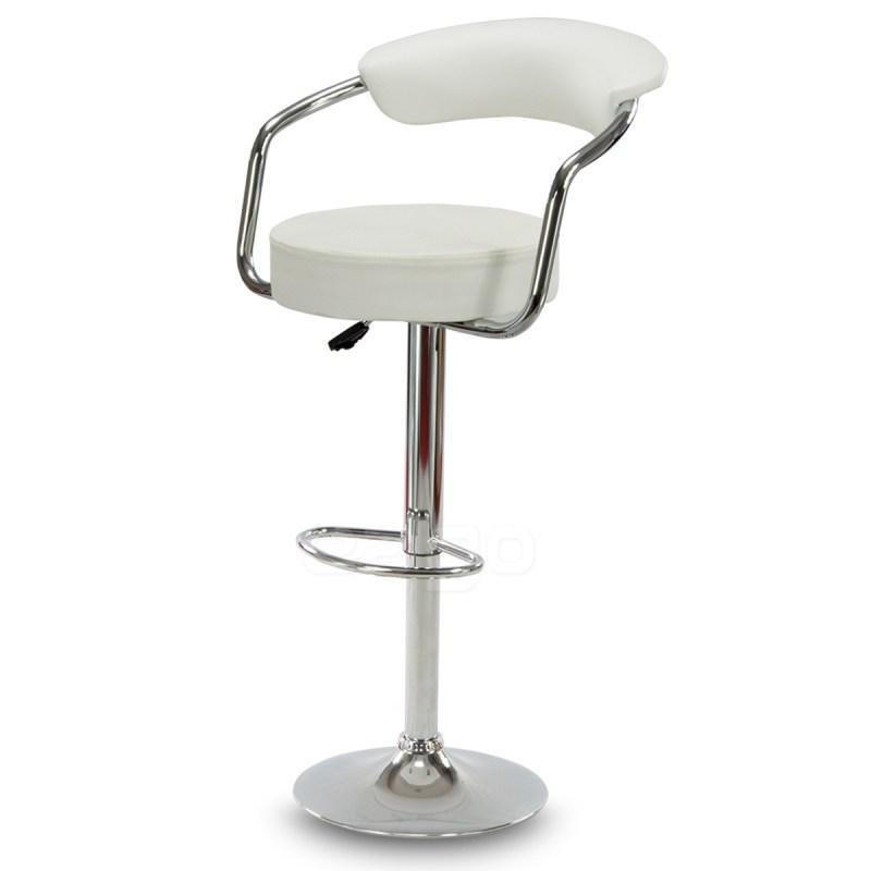 Барный стул барний стілець кресло на кухню Hoker Soho белый
