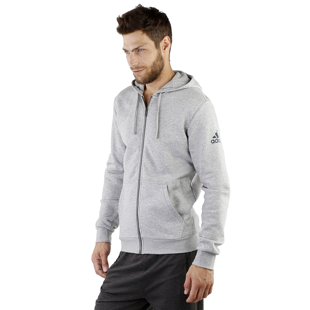 bc87d32d Оригинальная тёплая мужская толстовка Adidas ESS BASE FZ SLB ...