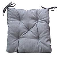 Подушка на стул Лонета Графит
