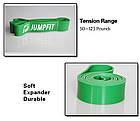 Резиновая петля,петли для подтягивания,фитнес резинка JUMPFIT Pro  Зеленая 23 - 57 kg, фото 2