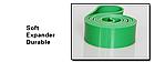 Резиновая петля,петли для подтягивания,фитнес резинка JUMPFIT Pro  Зеленая 23 - 57 kg, фото 5