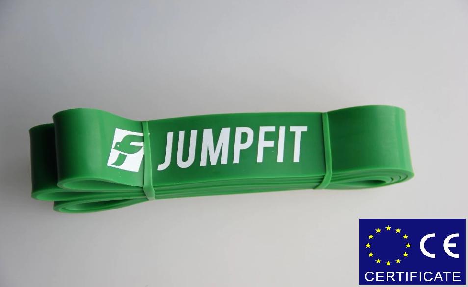 Резиновая петля,петли для подтягивания,фитнес резинка JUMPFIT Pro  Зеленая 23 - 57 kg