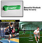 Резиновая петля,петли для подтягивания,фитнес резинка JUMPFIT Pro  Зеленая 23 - 57 kg, фото 4
